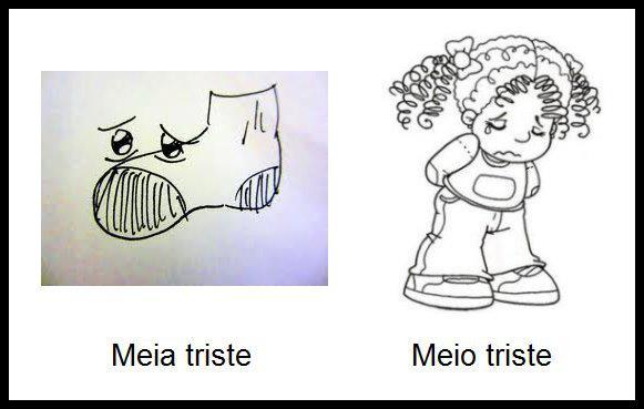 Meio ou Meia?