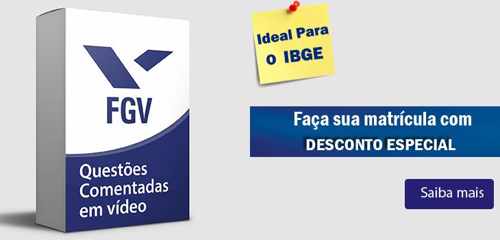 curso portugues fgv ibge