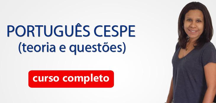 portugues cespe teoria e questões