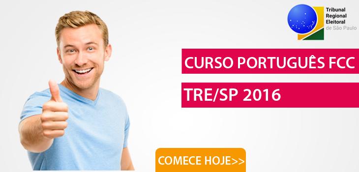 curso português fcc TRESP 2016