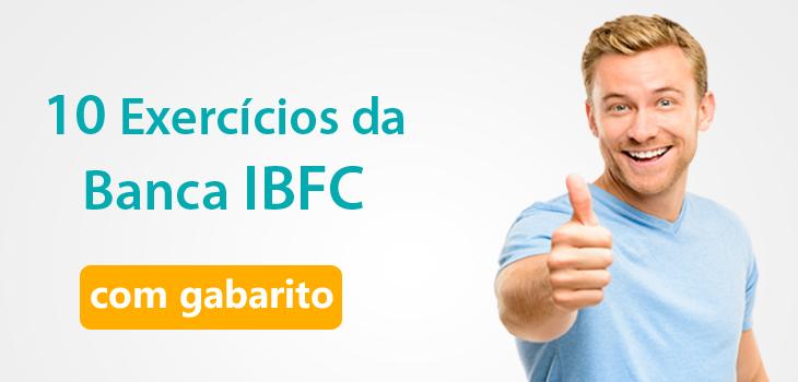questões de português IBFC com gabarito