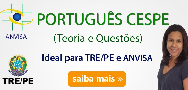curso-portugues-cespe-anvisa-e-tre-pe