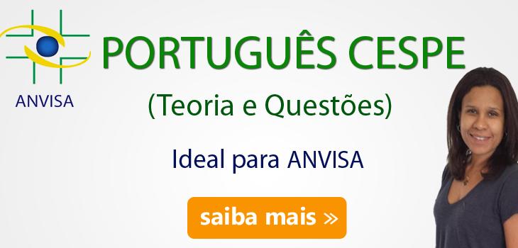 curso-portugues-cespe-anvisa