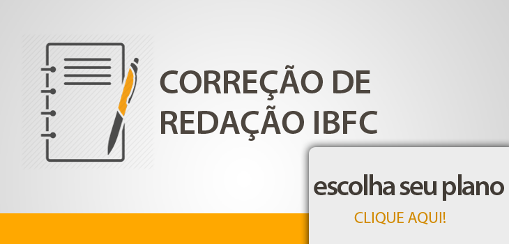 correção de redação IBFC